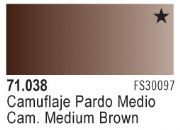 Model Air - Camouflage Medium Brown 038 <br>Vallejo71038